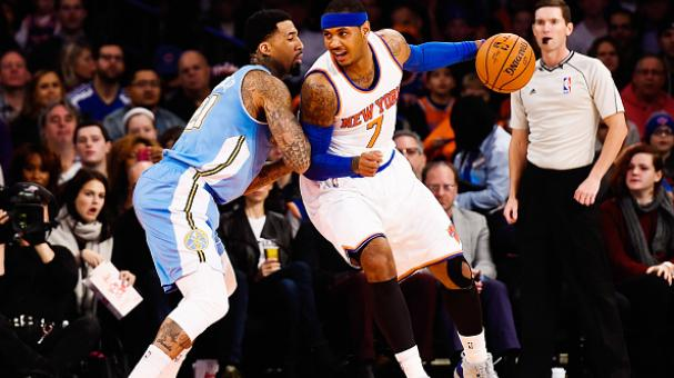 Carmelo Anthony anotó 28 puntos. Foto Getty Images
