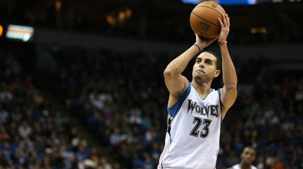 Kevin Martin #23 of the Minnesota Timberwolves prepares to shoot a free throw. (Photo by Jordan Johnson/NBAE via Getty Images)