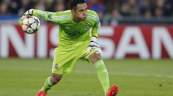 Keylor Navas of Real Madrid in action during the UEFA Champions League Group B match between FC Basel 1893 and Real Madrid at St. Jakob Stadium on November 26, 2014 in Basel, Switzerland. (Getty Images)