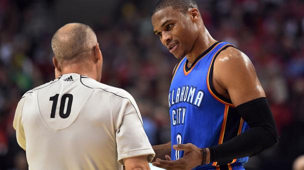 Russell Westbrook, Oklahoma City Thunder, NBA. Foto: Getty Images