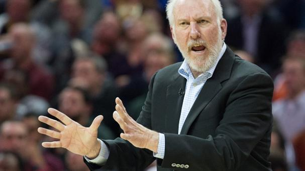 Gregg Popovich, San Antonio Spurs, NBA. Foto: Getty Images