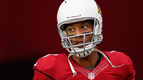 Wide receiver Larry Fitzgerald #11 of the Arizona Cardinals warms up before the NFL game against the St. Louis Rams at the University of Phoenix Stadium on November 9, 2014 in Glendale, Arizona. Getty Images