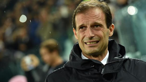 Juventus head coach Massimiliano Allegri looks on during the UEFA Champions League group A match between Juventus and Olympiacos FC at Juventus Arena on November 4, 2014 in Turin, Italy. (Photo by Valerio Pennicino/Getty Images)