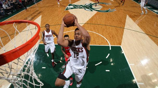 Jabari Parker #12 of the Milwaukee Bucks goes to the basket against the Los Angeles Clippers on December 13, 2014 at the BMO Harris Bradley Center in Milwaukee, Wisconsin. Getty Images
