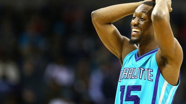 Kemba Walker #15 of the Charlotte Hornets reacts after a call during their game against the Brooklyn Nets at Time Warner Cable Arena on December 13, 2014 in Charlotte, North Carolina. Getty Images