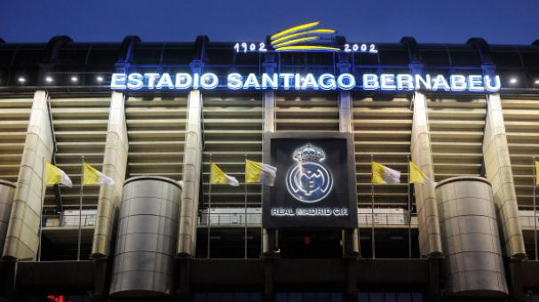 View of Real Madrid's Santiago Bernabeu stadium on August 21, 2011 in Madrid, Spain. Getty Images