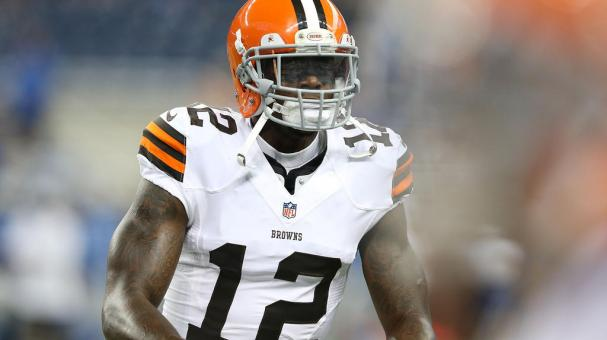 Josh Gordon #12 of the Cleveland Browns warms up prior to the start of the preseason game against the Detroit Lions at Ford Field on August 9, 2014 in Detroit, Michigan. Getty Images