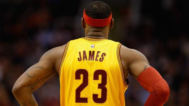 LeBron James #23 of the Cleveland Cavaliers in Denver, Colorado. (Getty Images)