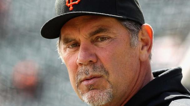 Manager Bruce Bochy of the San Francisco Giants stands on the field before their game against the Pittsburgh Pirates at AT&T Park on April 13, 2012 in San Francisco, California. Getty Images