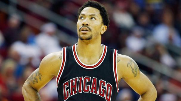 Derrick Rose #1 of the Chicago Bulls wiats on the court during their game against the Houston Rockets at the Toyota Center on February 4, 2015 in Houston, Texas. Getty Images
