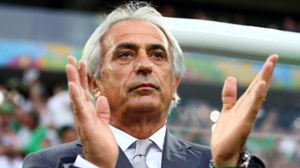 Head coach Vahid Halilhodzic of Algeria looks on during the 2014 FIFA World Cup Brazil Group H match between Algeria and Russia at Arena da Baixada on June 26, 2014 in Curitiba, Brazil. (Getty Images)