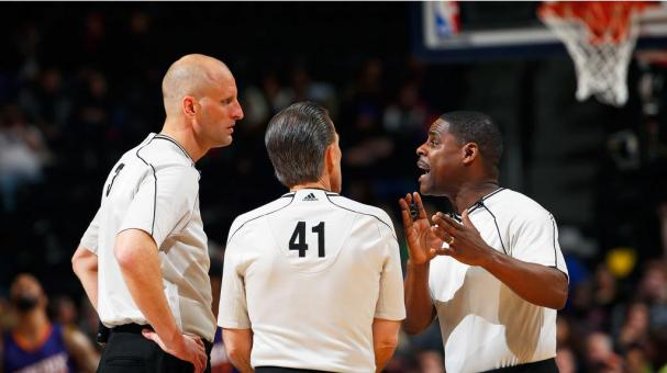 NBA referees. Foto: Getty Images