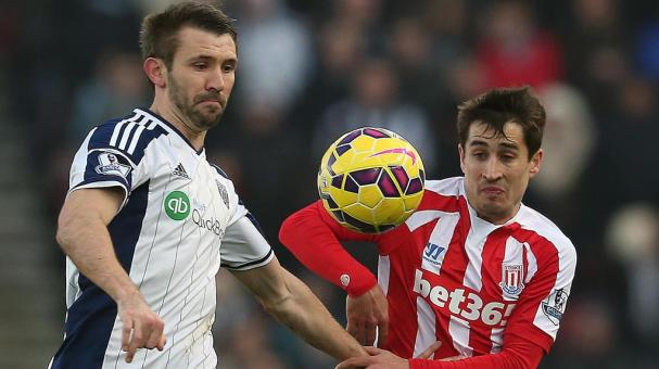 West Bromwich vs. Stoke City. Getty Images