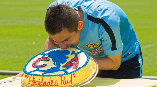 Paul Aguilar, defensa del América. Mexsport