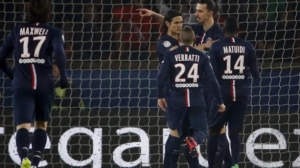 Zlatan Ibrahimovic, Paris Saint Germain, Ligue 1 Francia