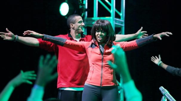 "Michelle Obama, implicada con ""Let's Move"""