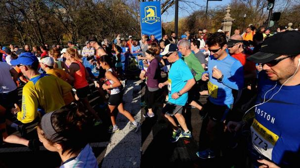 La maratón de Boston