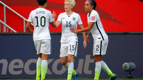 Megan Rapinoe - Foto: Getty