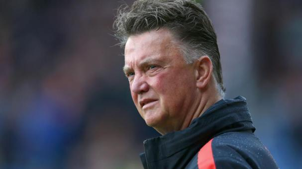 Louis Van Gaal, director técnico del Manchester United. Foto: Getty Images.