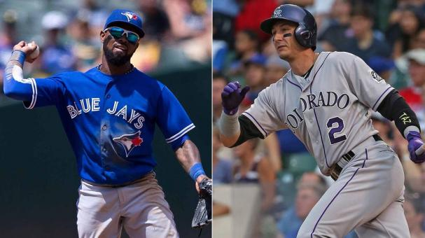 José Reyes y Troy Tulowitzki - Fotos: Getty Images