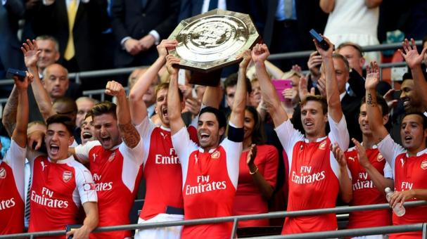 El Arsenal gana la Community Shield