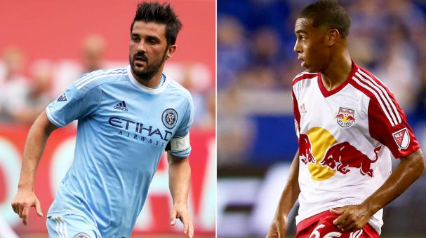 NY Red Bulls vs NYCFC. Foto: Getty Images