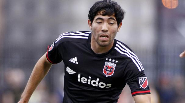 Miguel Aguilar #17 of D.C. United. (Photo by Justin K. Aller/Getty Images)