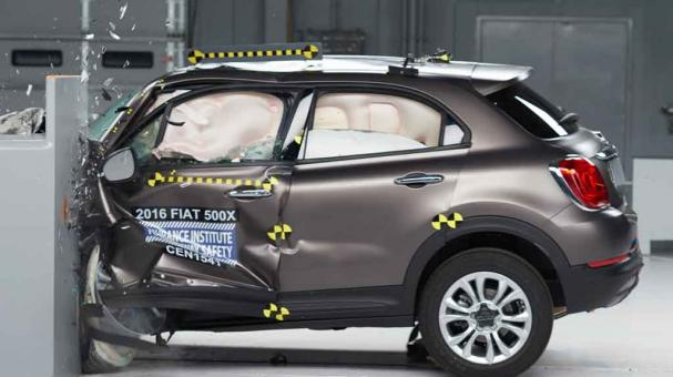 FIAT 500X 2016, Top Safety Pick+ del IIHS