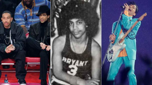 Prince. Fotos: AP/Twitter/Getty Images