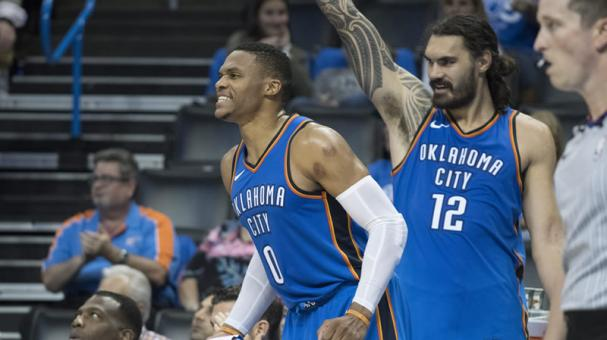 Russell Westbrook logra un triple-doble que hace ganar a los Thunder ante Pacers