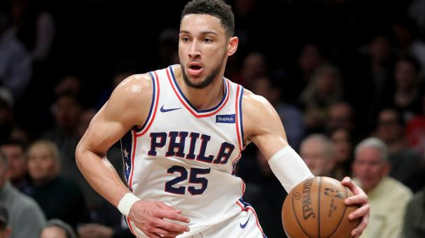 Ben Simmons #25 of the Philadelphia 76ers the court against the Brooklyn Nets during their game at Barclays Center on January 31, 2018 in the Brooklyn borough of New York City. (Getty Images)