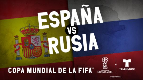 Where to watch Spain vs  Russia World Cup game