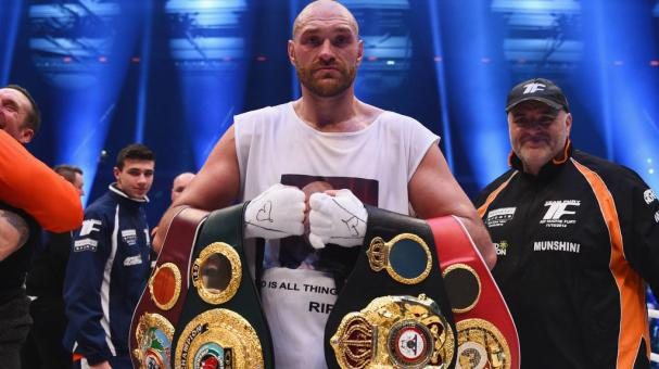 Tyson Fury. Getty Images