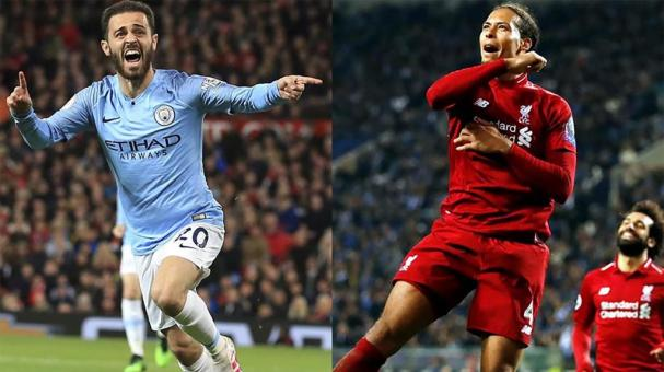 Manchester City y Liverpool. AP