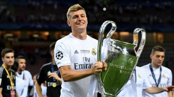 Toni Kross, del Real Madrid. Getty Images