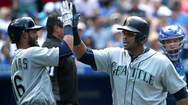 Nelson Cruz impulsó siete de las 14 carreras de los Marineros. Foto: Getty Images