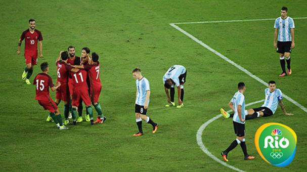 Argentina cae ante Portugal Foto: Getty Images