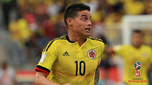 James Rodríguez dice que intenta ayudar a Colombia y al Real Madrid