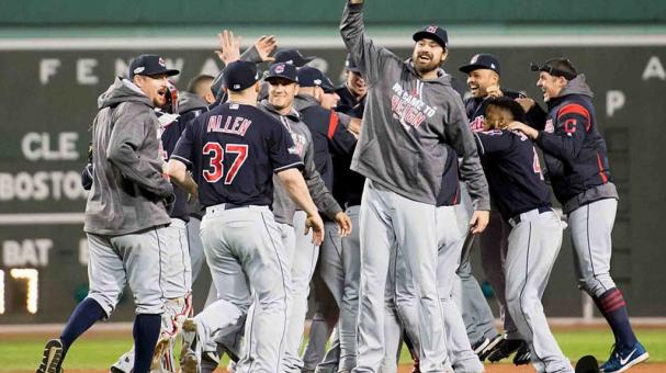 Cleveland barrió con los Red Sox. Foto: Getty Images