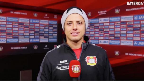 "Javier ""Chicharito"" Hernández. Foto: Bayer TV"