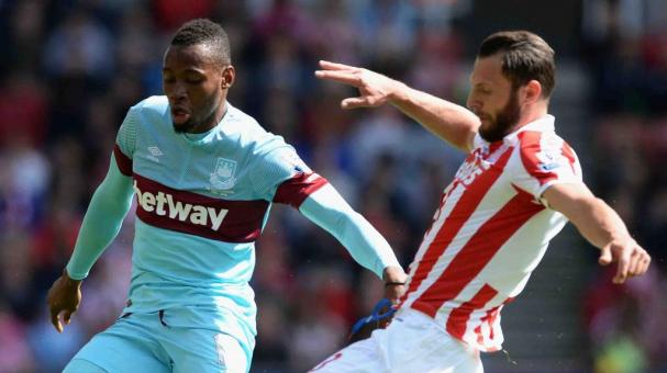 West Ham United recibe al Stoke City. Foto: Getty Images