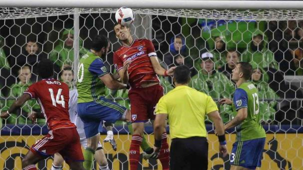 Seattle Sounders eliminó al FC Dallas de los playoffs en la MLS. Foto: AP