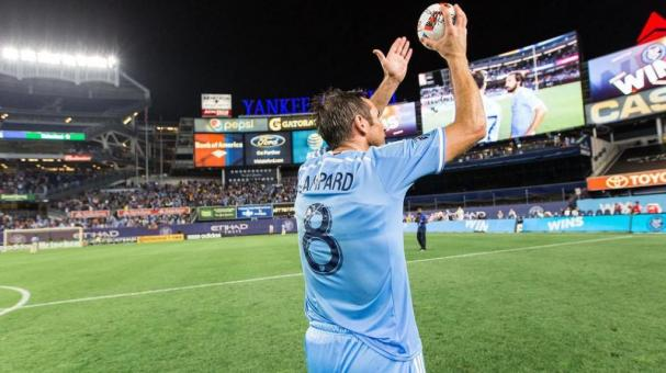 El New York City anuncia la marcha de Frank Lampard