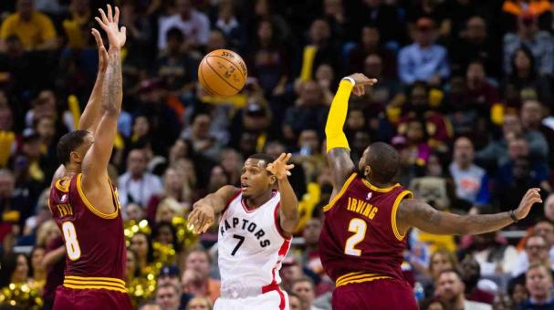 Cleveland luce imparable frente a Toronto. Foto: Getty Images