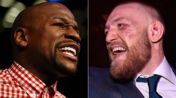 Floyd Mayweather Jr. y Conor McGregor. Foto: Getty Images