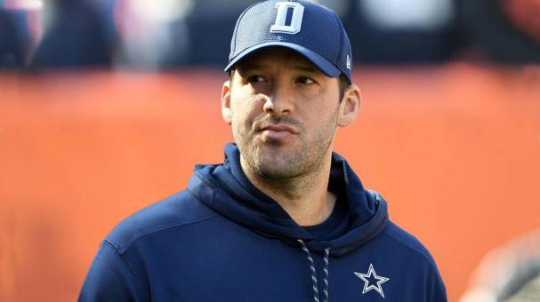 Tony Romo #9 of the Dallas Cowboys looks on from the sideline in the first half against the Cleveland Browns at FirstEnergy Stadium on November 6, 2016 in Cleveland, Ohio. (Photo by Jason Miller/Getty Images)