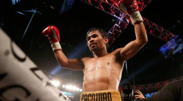 Manny Pacquiao. Getty Images