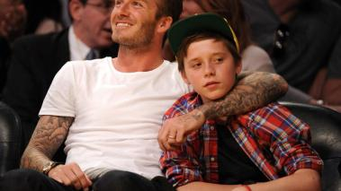 David y Brooklyn Beckham