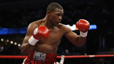 Jermain Taylor during the World Middleweight Championship fight. Jermain Taylor won by split decision at FedExForum on May 19, 2007 in Memphis, Tennessee. Getty Images