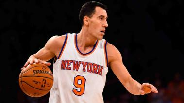 Pablo Prigioni #9 of the New York Knicks in action during a game against the Portland Trail Blazers at Madison Square Garden on December 7, 2014 in New York City. Getty Images